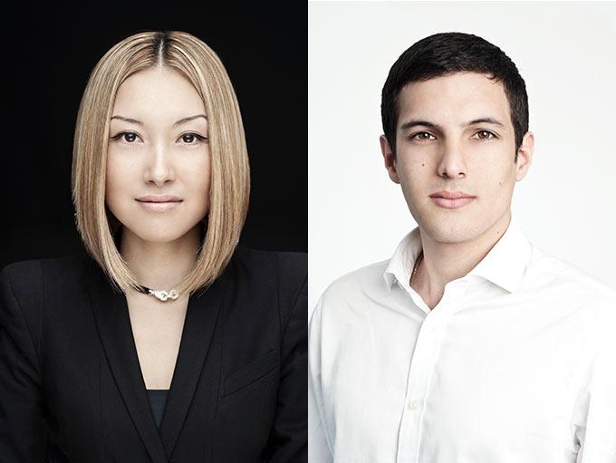 two portraits corporate-headshots