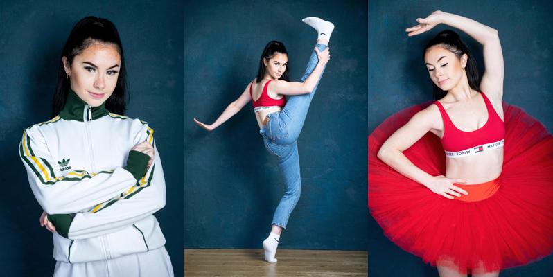 Modern dancer photos