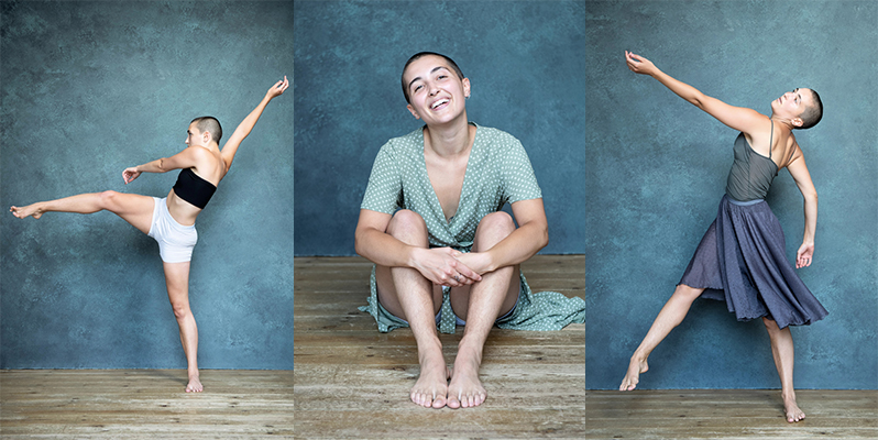 Contemporary dancer shots