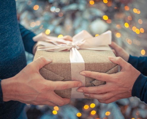 Christmas gift exchange-