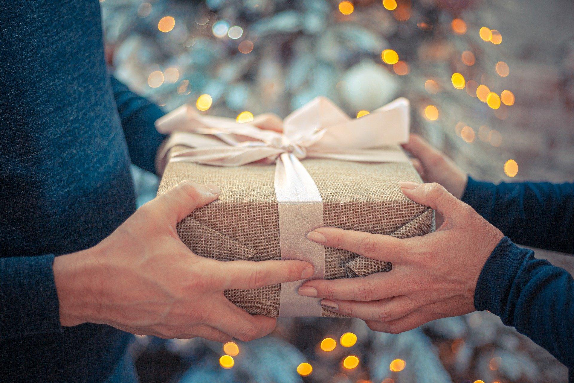 Christmas gift exchange-